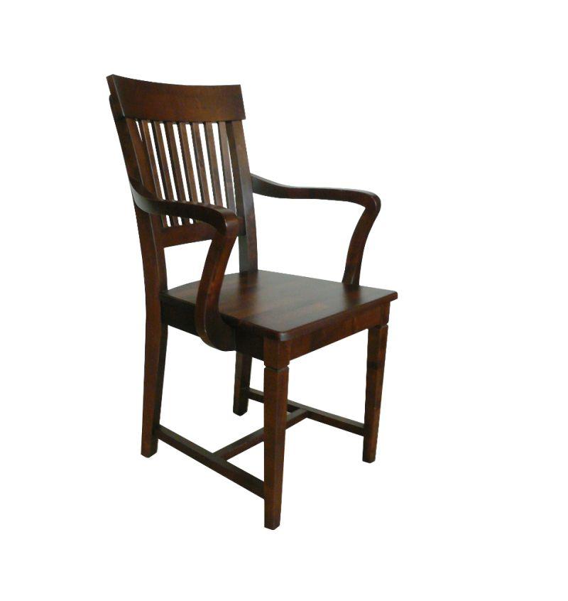krzesło, fotel z drewna