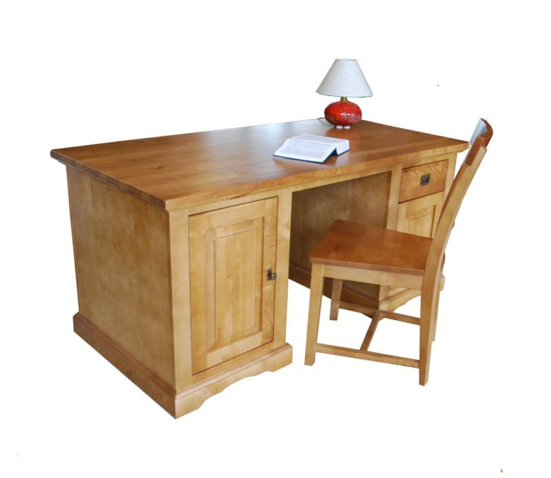 biurko dębowe